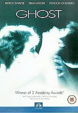 Ghost DVD (2001) Patrick Swayze, Zucker (DIR) cert 15 FREE Shipping, Save £s