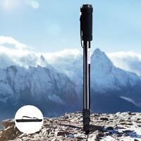 NEW Portable Professional Aluminium Digital Camera DSLR SLR Monopod w Carry Bag