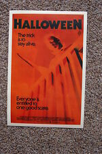 Halloween #4 Lobby Card Movie Poster Jamie Lee Curtis John Carpenters
