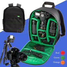 Waterproof DSLR SLR Camera Backpack Shoulder Bag Case Cover For Canon Sony Nikon