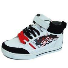 Chaussures de tennis blancs pour garçon de 2 à 16 ans
