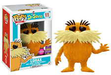 Dr Seuss - Lorax Flocked SDCC 2017 US Pop Vinyl Figure Funko