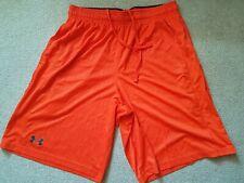 Under Armour Mens Size Medium Orange Shorts