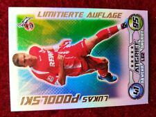 Match Attax 2009/2010 09/10 Limitierte Auflage Lukas Podolski LE2 Neu !!