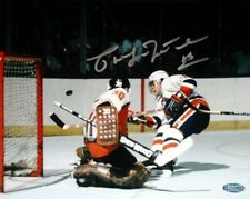 Pat LaFontaine autographed signed New York Islanders 16x20 photo poster Steiner