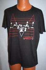 Maroon 5 2011 Concert Tour T-Shirt Large Adam Levine Rock Black Pop
