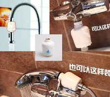 Bathroom In-Line Shower Head Filter Water Softener Purifier Chlorine Remover #A