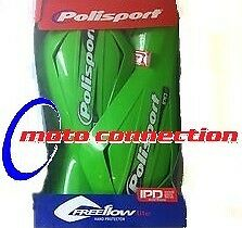 Paramanos Polisport freeflow-lite Verde-Kawasaki Kx125 Kx250 Kx500 Motocross