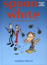 SPOON & WHITE #1 HC deutsch VZA TT + signed Artprint  lim.300 Ex. LETURGIE/YANN