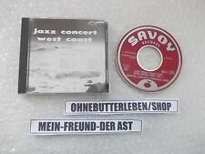 CD Jazz Dexter Gordon-Jazz concert west coast (3 chanson) savoy Japon press