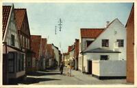 Aabenraa Åbenrå Apenrade ~1960 Slotsgade color Postkarte PK DK Danmark Dänemark
