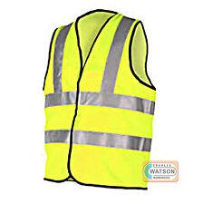 Veste de Sécurité Jaune Haute Visibilité Hi Vis High Viz Waistcoat pour Travail