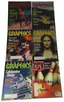 Lot 6 Computer Graphics Magazines1998 1999 2000 CGW Vintage July May September