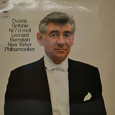 """LEONARD BERNSTEIN - DVORAK SYMPHONIE 12"""" LP (P762)"""