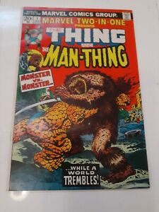Marvel Two-one The Thing And The Man Thing #1