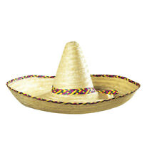 XL Mexiko Sombrero Karneval Fasching Kostüm Party Verkleidung Strohhut Hut 2820