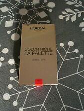 L'Oréal Color Riche La Palette Lippen Palette RED ROT unbenutzt!
