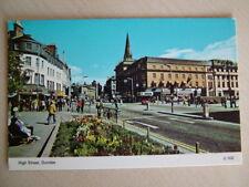 Postcard. HIGH STREET, DUNDEE. Unused. Standard size.