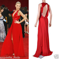 VERSACE Embellished Red Silk Gown on Emmy's list of the most iconic! 42 - 6
