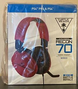 Turtle Beach Ear Force Recon 70 Midnight Red Gaming Headset PS4