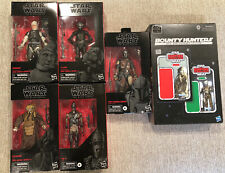 Star Wars Black Series Bounty Hunter Bundle