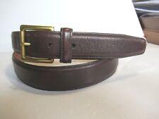 Tommy Hilfiger Genuine Brown Leather belt 5898
