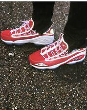 Vintage Retro Men's Reebok red DMX Run 10 Trainers Shoes kicks Size 10