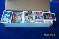 1991 UPPER DECK FOOTBALL COMPLETE 500 CARDS SET WITH BERT FARVE  ROOKIE CARD