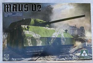 1/35 German MAUS v2 super heavy tank Takom