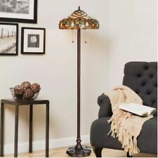 """Tiffany-style Ariel Floor Lamp 61"""" High By 16"""" Wide Warehouse of Tiffany"""