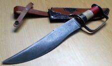 Custom hand made Knife king's Damascus Civil War D-Guard Bowie
