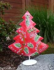 Großer Weihnachtsbaum Metall handbemalt Dekobaum Tannenbaum Christbaum Deko