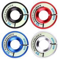 Aluminum Alloy Luminous Ignition Key Switch Ring Cover Key Hole N#S7