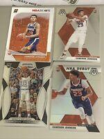 2019-20 Cameron Johnson PANINI RC Lot (4) SILVER NBA DEBUT +++ ALL SHARP  Suns