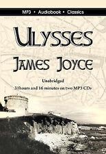 Ulysses - Unabridged MP3 CD Audiobook in DVD case