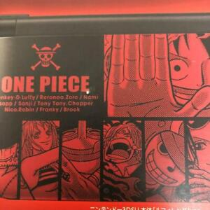 Nintendo 3ds LL One Pieace Unlimited WorldR Pack Luffy Red Ver. Game console JP