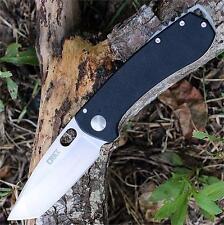 Couteau CRKT Amicus Tanto Lame Acier 8Cr13Mov Manche Acier/G-10 CR5441