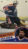 Grant Fuhr 1984-85 O-Pee-Chee NHL Hockey Card #241