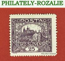 Czechoslovakia stamps MNH 1918 HRADCANY AT PRAGUE (25h) II
