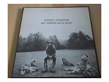 George Harrison ‎- All Things Must Pass - 3 LP Box - OIS - Poster - STCH 639  US