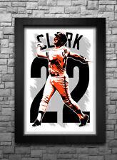 WILL CLARK art print/poster SAN FRANCISCO GIANTS FREE S&H! JERSEY