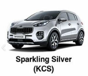 KIA OEM Touch-up Brush & Pen Paint(Color Code:KCS-Sparkling Silver) fit Sportage
