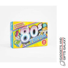 Trivia Awesome 80's 100 Trivia Cards Quiz Questions & Answers Gift Novelty