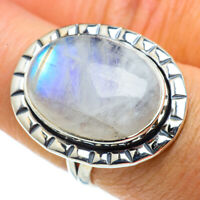 Rainbow Moonstone 925 Sterling Silver Ring Size 7.5 Ana Co Jewelry R43243F