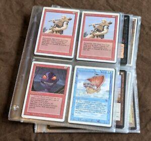 Alte Magic the Gathering Karten Sammlung