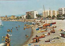 Cros De Cagnes Plage France Postcard used VGC