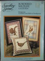 Something Special #90018 BORDERED WILDLIFE Cross Stitch Pattern Collection