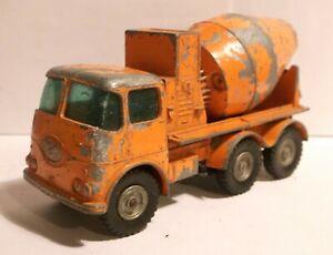 1960s Lesney Matchbox King Size K13 K-13 ERF Readymix Ready Mix Concrete truck b