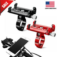 Aluminum Motorcycle Bike Holder Bicycle Mount Handlebar For 3.5~6.2in Phone GPS