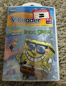 Spongebob Squarepants V.Reader Model Sponge Ages 5 To 7 Vtech